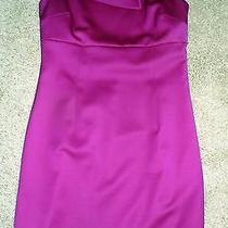 Anne Klein New York Fabulous Holiday Hot Pink/purple Dress Sz M Photo