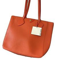 Anne Klein Orange Tote Purse Large Nwt Summer Bag Photo