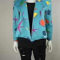 Anne Klein Size 8 Open-Front Heart Jacket Blazer New Nwt Photo