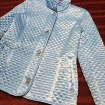 Anne Klein Size 8 Pre-Owned Women's Quilted Jacket Photo