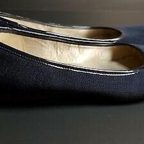Anne Klein Sport Navy Blue Flats Shoe Size 8.5 Womens Photo