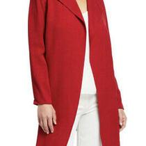 Anne Klein Titian Red Women's Size Large Cardigan Blazer Jacke Photo