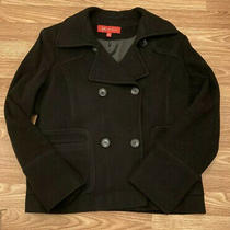 Anne Klein Woman's Double Breasted Pea Coat Size Large Photo