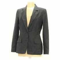 Anne Klein Women's Blazer Size 8  Grey  Polyester Rayon Spandex Other Photo