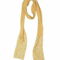 Anne Klein Women Yellow Scarf One Size Photo