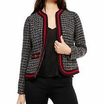 Anne Klein Womens Navy Jacket Size 14 Photo