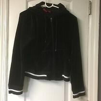 Anne Klein Womens Zip Up Hooded Jacket Size Medium Photo
