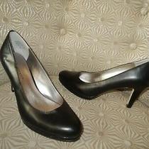 Anne Klein Wystere Women's Black Leather 3