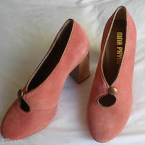 Anthropologie 268 Etta Keyhole Pump by Nina Payne  New  Sold Out Color Photo
