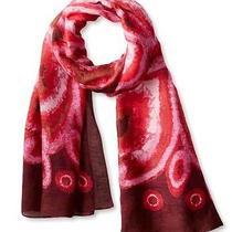 Anthropologie Agalega Tie Scarf Wrap Wearable Art 175 New Theodora & Callum  Photo