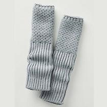 Anthropologie Arm Warmer Fingerless Glove Thumb Hole With Cashmere Gray Nwt Photo