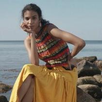 Anthropologie Audra Sweater Tank Stripe Sz Xs Photo