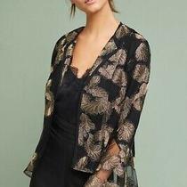 Anthropologie Auria Bell-Sleeve Jacket  by Samantha Dru New Sz. M Photo