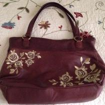 Anthropologie Beautiful Leather Purse Photo