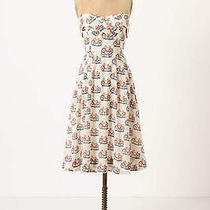 Anthropologie Bike Lane Dress 10 M L  Photo