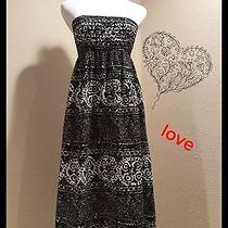 Anthropologie Black & White Dress by Tabatha Size 4 Photo