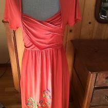 Anthropologie Caite Dress Med Beautiful Embroidery Photo