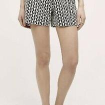 Anthropologie Cartonnier Black and White Shorts Size 2 Photo