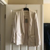 Anthropologie Cartonnier Blush Blazer Size 4 Photo