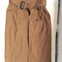 Anthropologie Cartonnierolive Green/brown Pencil Skirt Sz 2 Photo