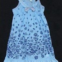 Anthropologie Clothing Clothes Bird Blue Ruffle Dress Small 8 New Photo