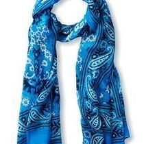 Anthropologie Cusco Scarf Pareo Wrap Wearable Art 175 New Theodora & Callum Photo