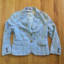Anthropologie Daughters of the Liberation Blazer Jacket Womens Size 2 Patchwork Photo