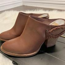 Anthropologie Dolce Vita Slip on Braided Heel Mules/clogs Size 7.5 Photo