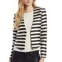 Anthropologie Dolce Vita Striped Jacket Preowned Sz L Photo