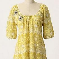Anthropologie Edme Esyllte Moscow in Bloom Top - 6 Floral Photo
