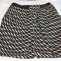 Anthropologie Fei Washi Wrap Skirt (2011) Pencil Black Print 0 (Fits 00) Xs Euc Photo