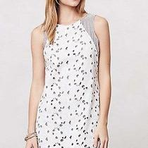 Anthropologie Fleur Eyelet Shift Dress by San & Soni Xs New Nwt Tunic White Photo