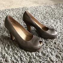 Anthropologie Gee Wawa Guc Women's Peep-Toe Shoes Sandals Size 8 Photo
