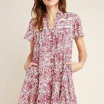Anthropologie  Georgina Tiered Shirtdress Nwt New Size S New Photo