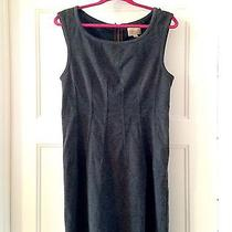Anthropologie Grey Deletta Dress - Medium Photo