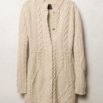 Anthropologie Guinevere Cabled Sweater Coat  Photo