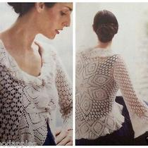 Anthropologie Guinevere Xs Water of Movement Crochet Cardigan Photo