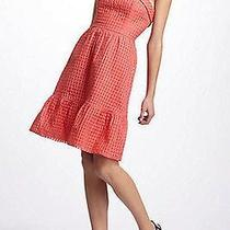 Anthropologie Hitherto Catharina Dress Coral. Size 12. Brand New in Bag.  Photo