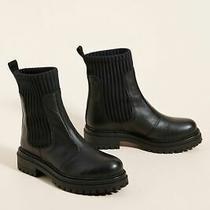 Anthropologie Knit Chelsea Boots Nib sz.8 - Black Photo