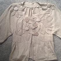 Anthropologie Knitted & Knitted Cardigan Sweater Small Photo