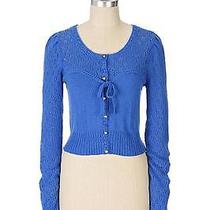 Anthropologie Knitted & Knotted Corset Cardigan sz.m Photo