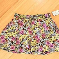 Anthropologie Leifnotes Flouncy Mini Skirt. Size 10. New With Tags.  Photo