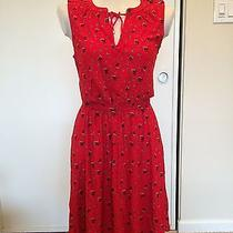 Anthropologie Leifnotes Red Summer Dress Photo