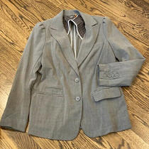 Anthropologie Light Weight Taikonku Gray Blazer Jacket Size 10 Photo