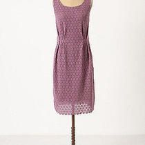 Anthropologie Lilac Purple Lace Eyelet