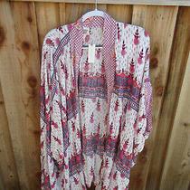 Anthropologie Lilka  Kimono Wrap Shawl One Size Fits All-Located New   Bin 16 Photo