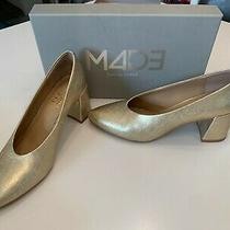 Anthropologie - Made- Gold Dressy Pumps 7.5m - Worn Once Photo