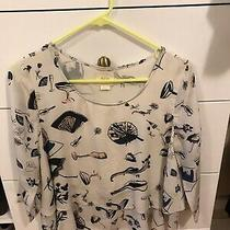 Anthropologie Maeve Blouse Top Size 2 Photo
