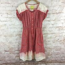 Anthropologie Maeve Fully Lined Short Sleeve Veronia Shirt Dress Dress Size Xs Photo