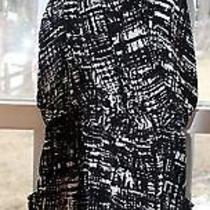 Anthropologie Material Girl Retro Black & White Halter Dress Clubbing Evening Photo